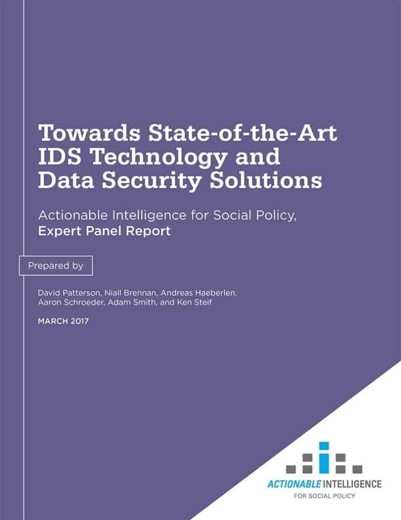 Data Standards Panel Report